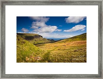 Sunny Day In The Mountains Framed Print by Maciej Markiewicz