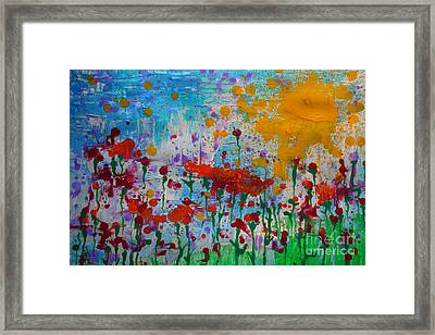 Sunny Day Framed Print by Jacqueline Athmann