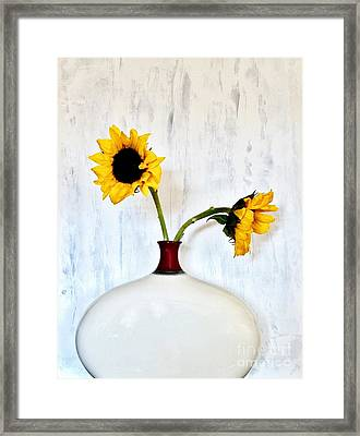 Sunny Day Framed Print by Marsha Heiken