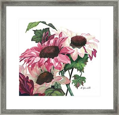 Sunny Delight Framed Print by Barbara Jewell