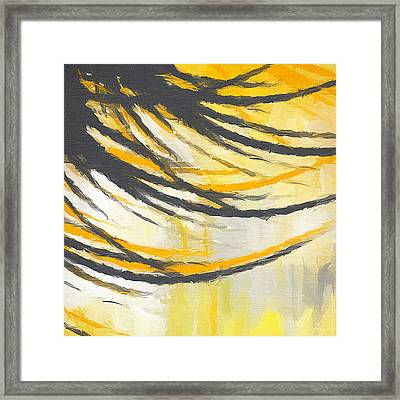 Sunny Field Framed Print by Lourry Legarde