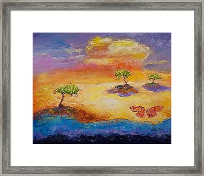 Sunny Islands Framed Print by William Killen