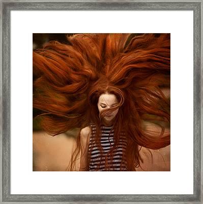 sunny Katia Framed Print by Anka Zhuravleva