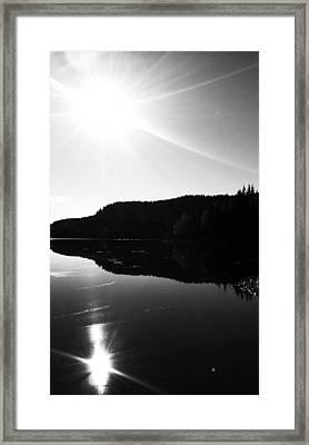 Sunny Mirror Framed Print