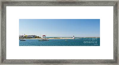 Sunny Nantucket Afternoon Framed Print by Michelle Wiarda