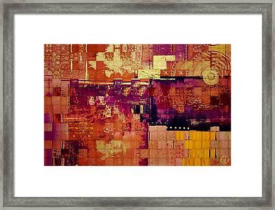 Sunny Quilt Framed Print by Gun Legler