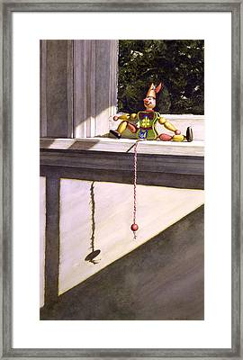 Sunny Side Framed Print by Tom Wooldridge