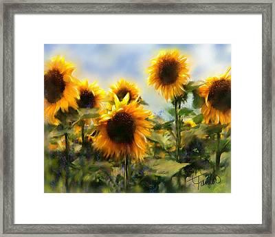 Sunny-side Up Framed Print