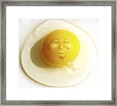 Sunny Side Up Framed Print by Diane Diederich