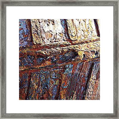 Sunny Side Up - Digital Art Framed Print by Carol Groenen