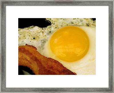 Sunny Side Up Framed Print by James Temple