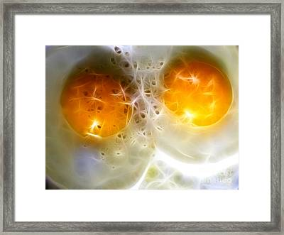 Sunny Side Up Framed Print by Wingsdomain Art and Photography