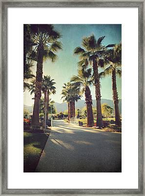 Sunny Warm Happy Framed Print