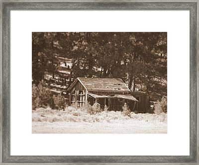 Sunny With Two Porches Framed Print by Carol Groenen