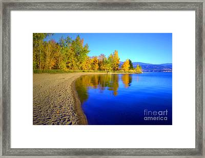 Sunoka Autumn Framed Print