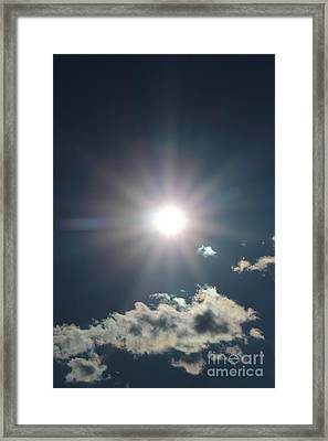 Sunray 1 Framed Print by Brenda Henley