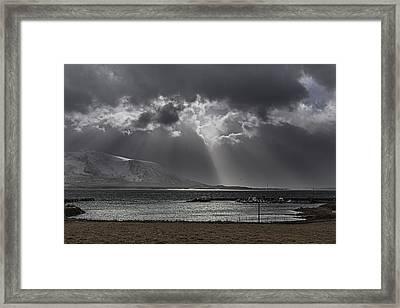 Sunray Framed Print by Frank Olsen