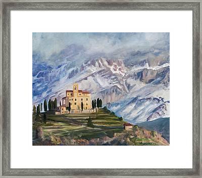 Sunray Framed Print by Marco Busoni