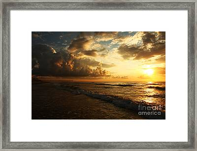 Sunrise - Rich Beauty Framed Print