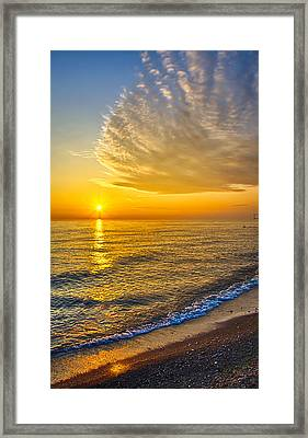Sunrise 10-30-13 Framed Print