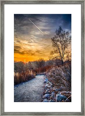Sunrise 12-2-13 01  Framed Print