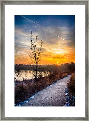 Sunrise 12-2-13 02 Framed Print