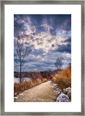 Sunrise 12-5-13 Framed Print