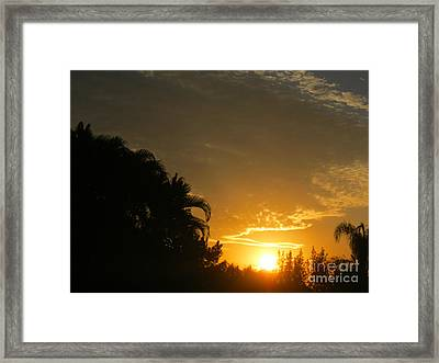 Sunrise 25 Framed Print