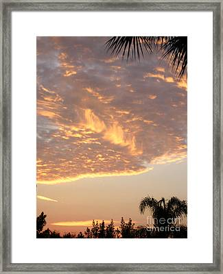 Sunrise 54. Florida Usa Framed Print