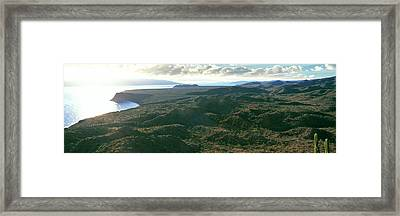 Sunrise Above A Ridge, Bay Framed Print by Panoramic Images