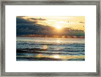 Sunrise After The Storm Framed Print