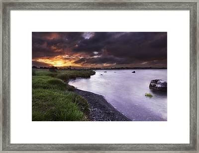 Sunrise  Framed Print by Allen Cheshire