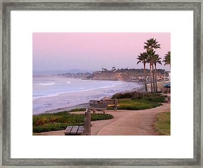 Sunrise At 15th Street Framed Print