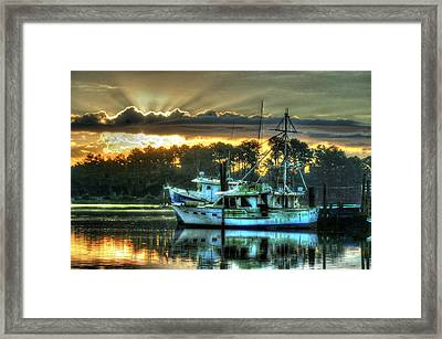 Sunrise At Billy's Framed Print by Michael Thomas