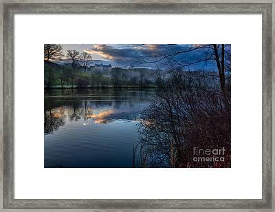 Sunrise At  Biltmore Estate Framed Print
