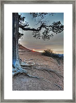 Sunrise At Bryce Canyon Framed Print