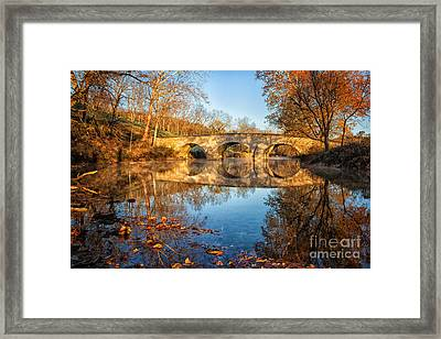 Sunrise At Burnside Framed Print