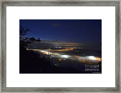 Sunrise At Buzzard's Bluff Framed Print