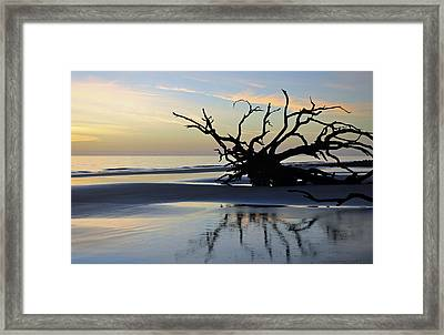 Sunrise At Driftwood Beach 6.6 Framed Print by Bruce Gourley