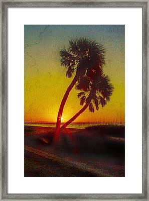 Sunrise At Fort De Soto Framed Print