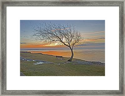 Sunrise At Fort Phoenix Framed Print