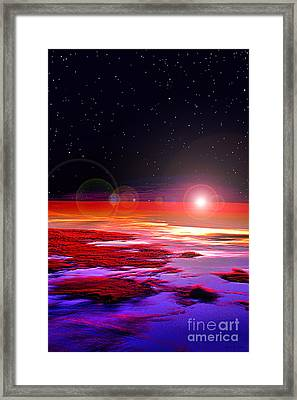 Sunrise At Fourty Thousand  Framed Print