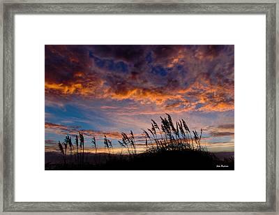 Sunrise At Hatteras Framed Print by John Pagliuca