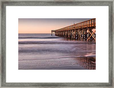 Sunrise At Isle Of Palms Framed Print