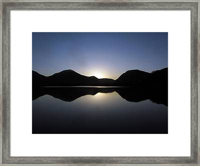 Sunrise At Loweswater Framed Print by Chris Whittle