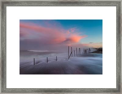 Sunrise At Mackerricher Framed Print by Mike  Walker