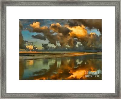 Sunrise At Myrtle Beach II Framed Print by Jeff Breiman