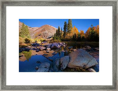 Sunrise At North Lake, Eastern Sierra Framed Print by Tom Norring
