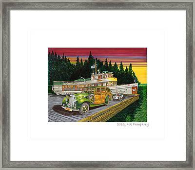 Sunday Sunrise At Port Madison Framed Print by Jack Pumphrey