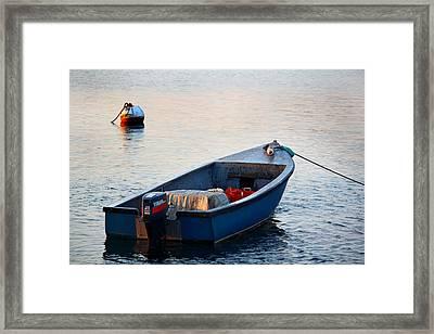 Sunrise At Sakonnet Point Framed Print